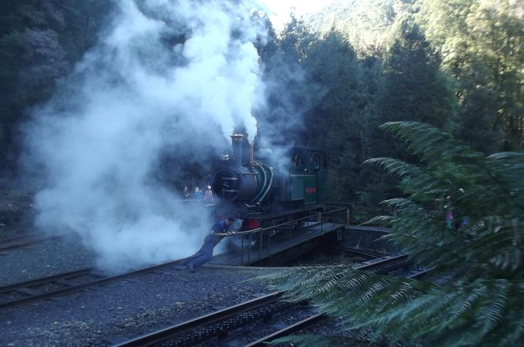 West Coast wilderness Railway...Queenstown,Tasmania