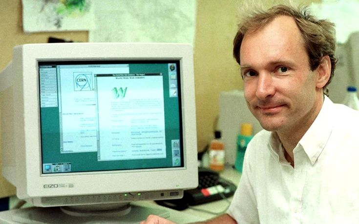 Telegraph UK: Invented by Tim Berners Lee, the first website went live at research lab CERN   in 1990. Adding full date -- 21 Dec 1990