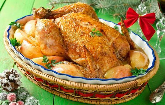 Рецепты курицы с яблоками в духовке, секреты выбора ингредиентов и