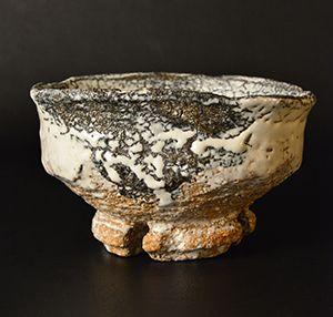 作品No.1 作品No.1 十一代 三輪休雪 (三輪壽雪) 鬼萩王り高台茶碗 Miwa Kyusetsu XI (Miwa Jusetsu) Tea bowl, Hagi