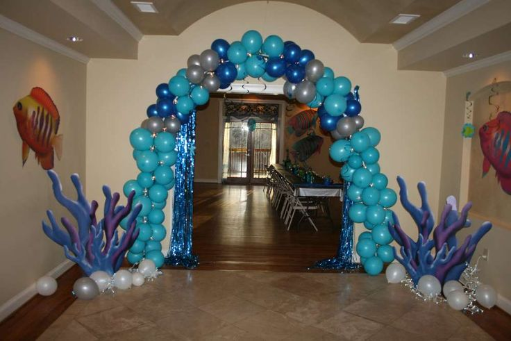 High Sea Decorations Prom School Under
