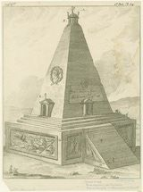 13 Basic Facts About Alexander the Great: Tomb erected at Ecbatana for a favorite of Alexander the Great. 1785. Hephaestion was actually cremated and his ashes buried elsewhere, in Babylon. He died October 324.