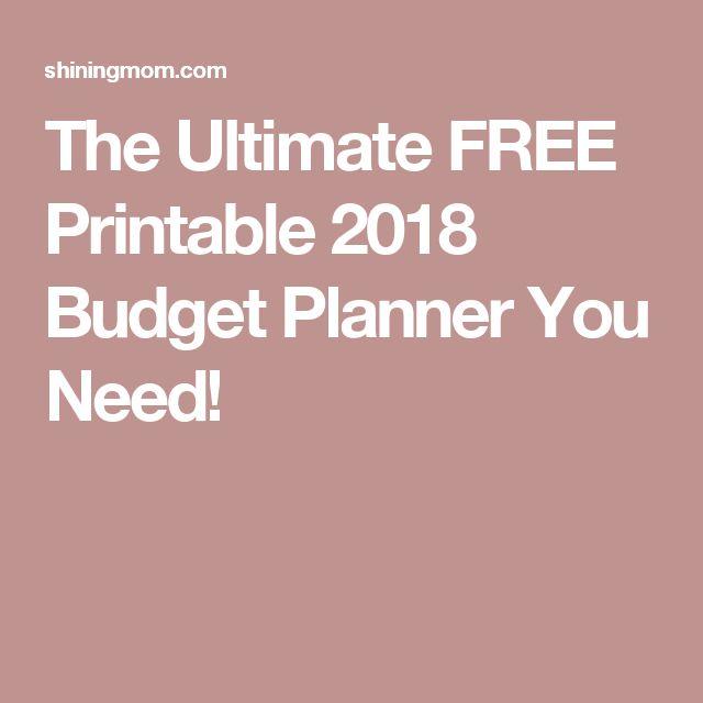 25+ ideias exclusivas de Printable budget planner no Pinterest - free printable budget planner