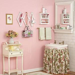 A Girly Bathroom