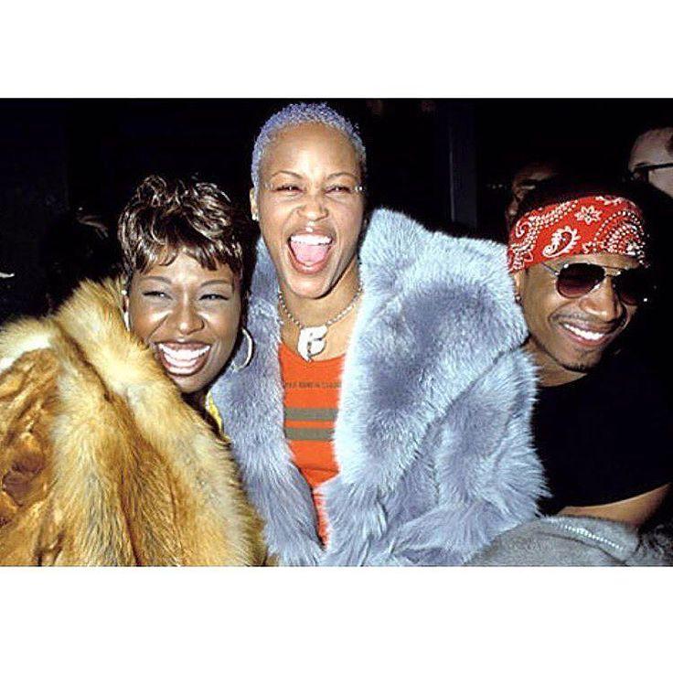 Throwback! Supa dupa fly #MissyElliott rapper #Eve & LHHA's #StevieJ.