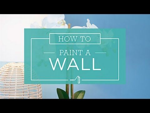 How To: Painting A Wall - Taubmans Australia - YouTube