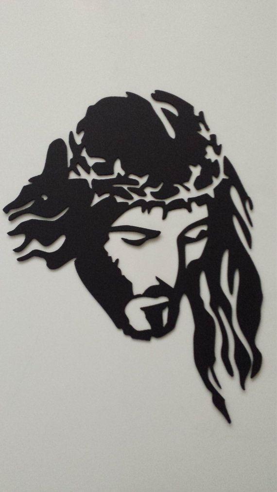 CNC Plasma Cut Jésus par ClemCustomCreations sur Etsy