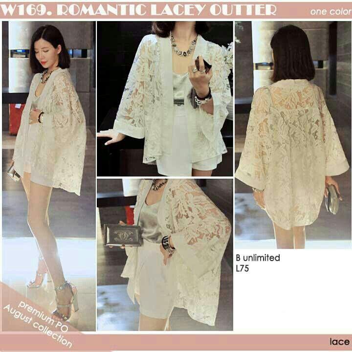 Romantic lacey  Rp180