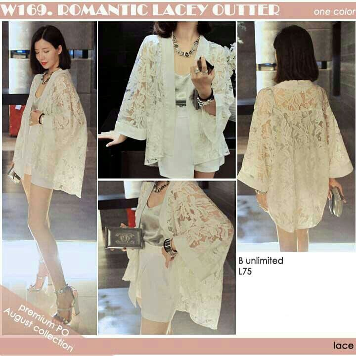 Romantic lacey  Rp180