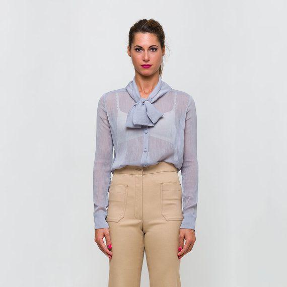 MODELLO BARBARELLA  Camicia in crepe di seta di unagoinunpagliaio