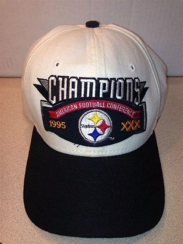 Pittsburgh Steelers Super Bowl 30 XXX 1995 Baseball Hat Cap Snapback #NewEra #PittsburghSteelers