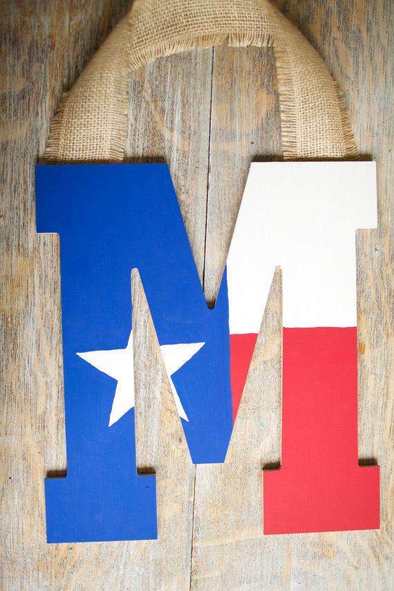 Wooden Texas flag initial by MaresMadeGoods on Etsy ---   http://tipsalud.com   -----