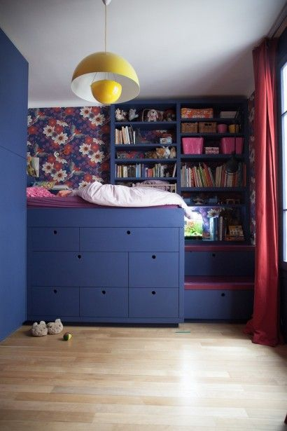 Great use of space, color, and pattern