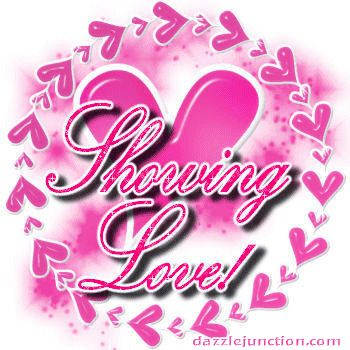 Showing Love Pink Dj quote
