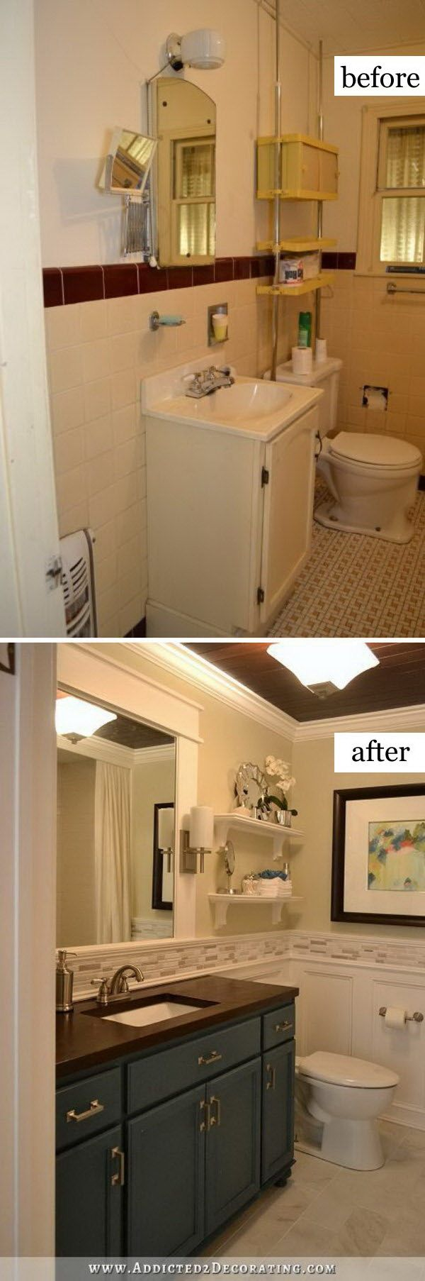 Hallway bathroom remodel before home interior Most beautiful small bathrooms