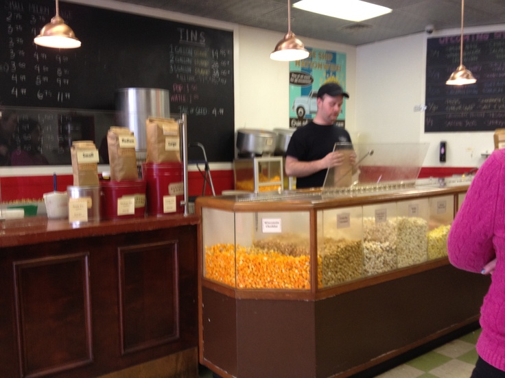 The best tasting popcorn flavors come from the Pittsburgh Popcorn Company on 822 Liberty Ave.