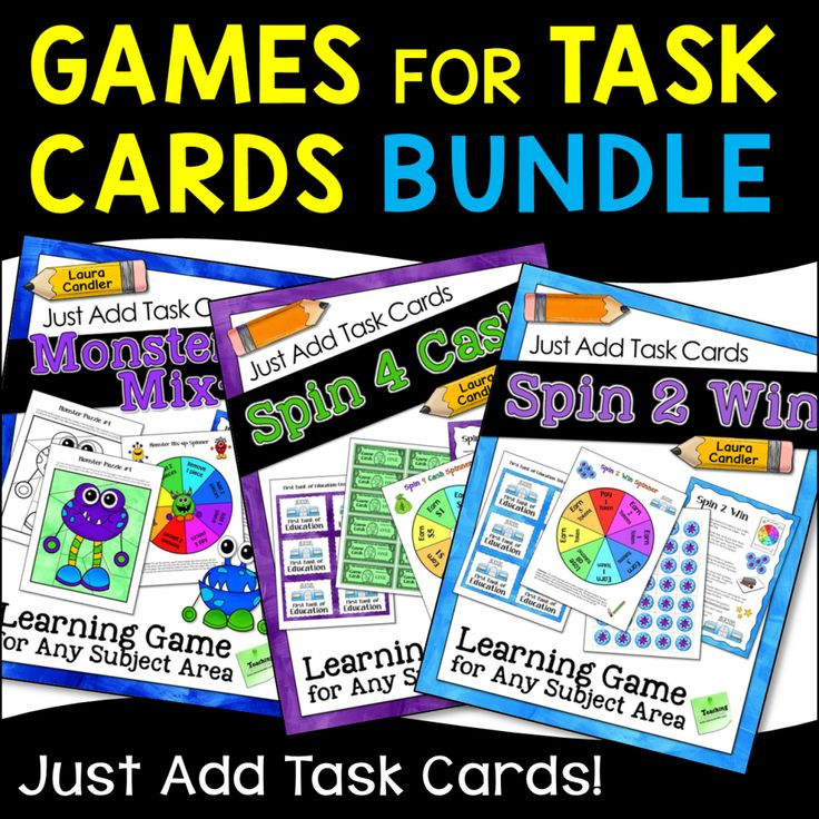 17 Best Images About Task Cards On Pinterest