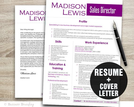 The 25+ best Sales resume ideas on Pinterest Business - it professional resume template word