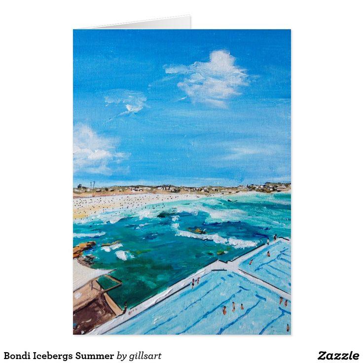 Bondi Icebergs Summer Card