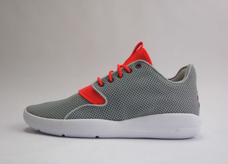 Nike Jordan Eclipse Mens Trainers Shoes Sneakers Lightweight Grey Mist/Inferred #Nike #Trainers