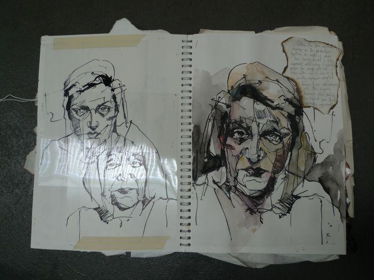 Carly Baker - A2 Sketchbook