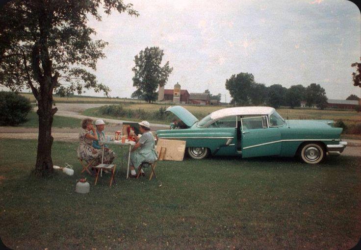 The fab '50's roadside picnic
