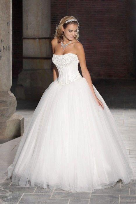 138 besten Classic Wedding Dresses Bilder auf Pinterest | 1950 stil ...