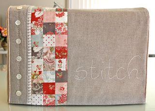 Sewing machine cover PDF pattern @ Bloom