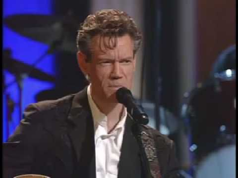 "Randy Travis performs ""Forever And Ever Amen"" at the Grand Ole Opry"