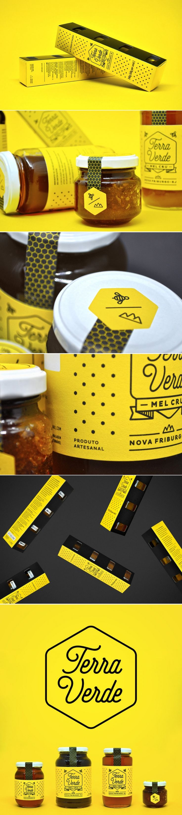 Beautiful Sustainable Honey Packaging — The Dieline - Branding & Packaging Design