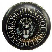 Ramones - 'Logo Names' Button Badge