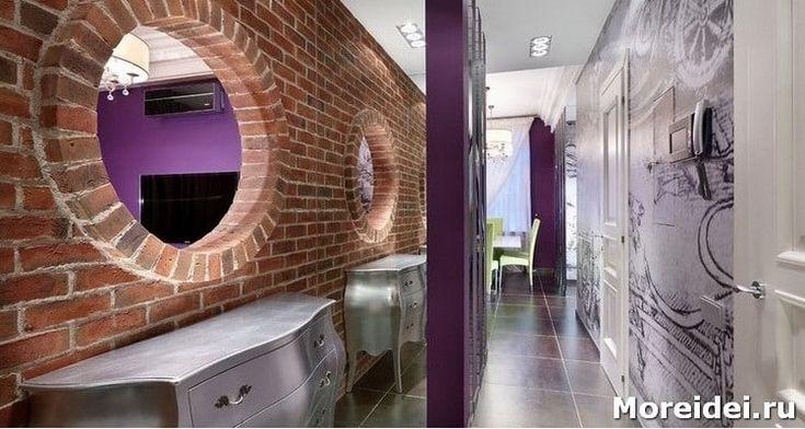 Дизайн прихожей с окном встречается нечасто. Холл, предназначен для переодевания и хранения вещей. Окно, делает дизайн прихожей настоящей визитной карточкой жилища.