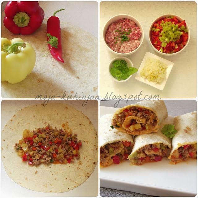 Moja kuhinja: Tortilje sa mlevenim mesom