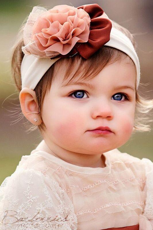 Haute Baby Infant Headband Creme De La Creme PREORDER