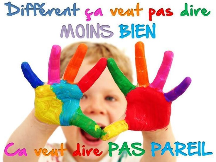 Différent... via www.tdah.be