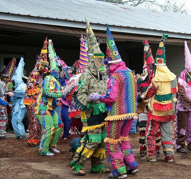 Attend a Courir de Mardi Gras in Mamou, Louisiana