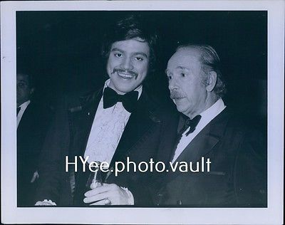CA453 '75 Orig Photo FREDDIE PRINZE JACK ALBERTSON Chico & the Man Comedy Awards