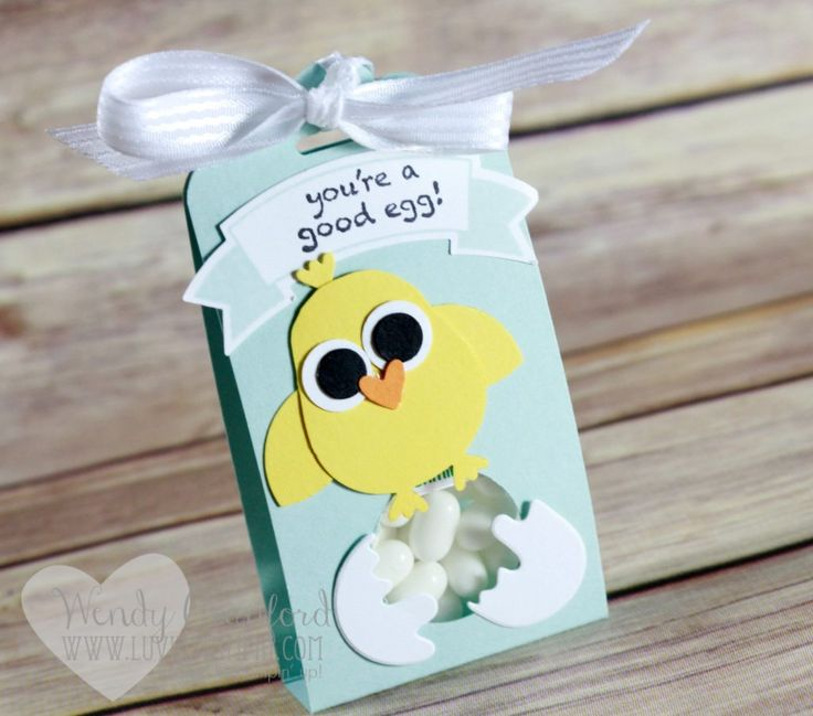 Fun Easter Treat Or Favor Featuring Several Awesome Stampin UP Products Details