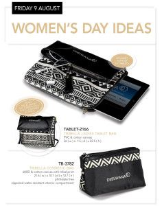 Tribal Print Carry case and Tablet Bag #Womens Day #Gift Ideas