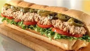 CLASSIC TUNA SUB Subway Classic Copycat Recipe 3 (5 oz.) cans chunk light tuna (in water, drained) 3 tablespoons mayonnaise 1 ...