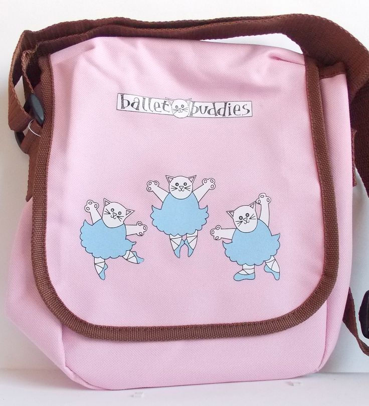 Designed in Devon, manufactured in the UK.  A very cute messenger bag which can be used as a ballet bag for little girls.   £8 only.  Can post overseas, please contact via the website for postage quote. http://www.giddysprite.com/product-category/bags/ #balletbag #whitekitten #ballerinacat #pinkmessengerbag #dancingcat #dancingkitten #bagforballerina #littleballerina #tutu #fashionbagfortots #balletshoebag