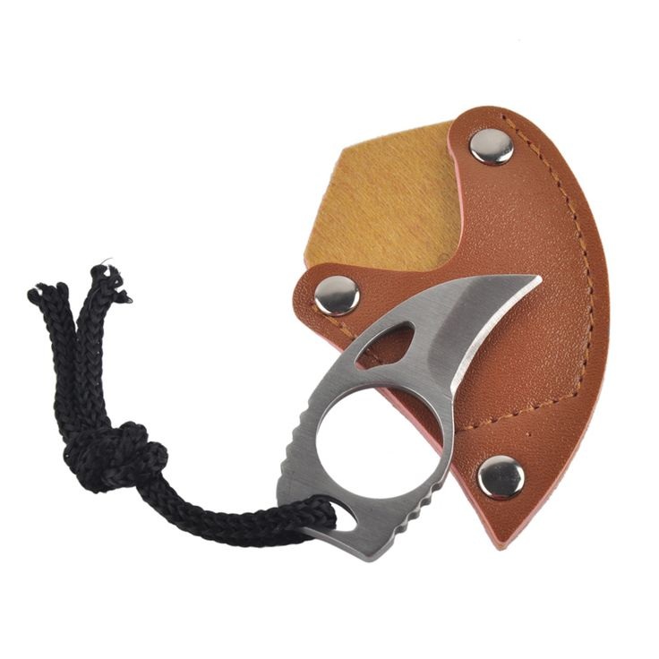 Like and Share if you want this  Outdoor Survival EDC Mini Carabiner Knife With Rope and Leather Cover Multi Function Tool Stainless Steel Claw Knife for Camping   Tag a friend who would love this!   FREE Shipping Worldwide   Buy one here---> http://extraoutdoor.com/products/outdoor-survival-edc-mini-carabiner-knife-with-rope-and-leather-cover-multi-function-tool-stainless-steel-claw-knife-for-camping/