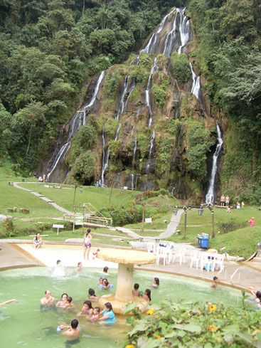 Aguas termales en Santa Rosa de Cabal - Colombia