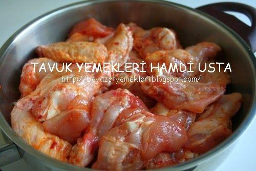 TAVUK YEMEKLERİ HAMDİ USTA: Tavuk Sosları