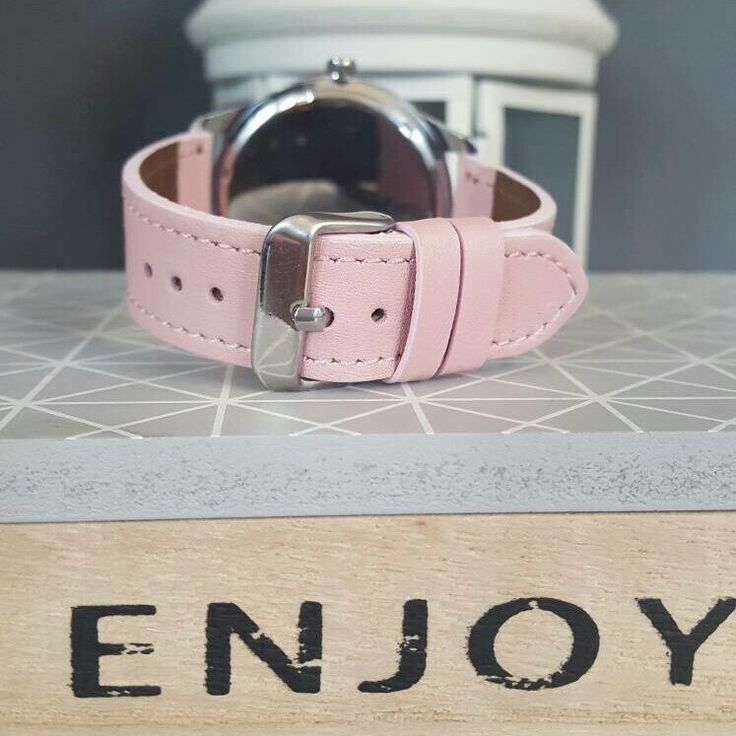 Fit this Pastel Pink strap on any watch case you like from my shop 💖