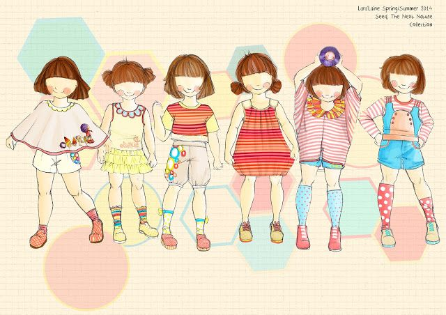 9 best images about kids fashion Illustration on Pinterest ...