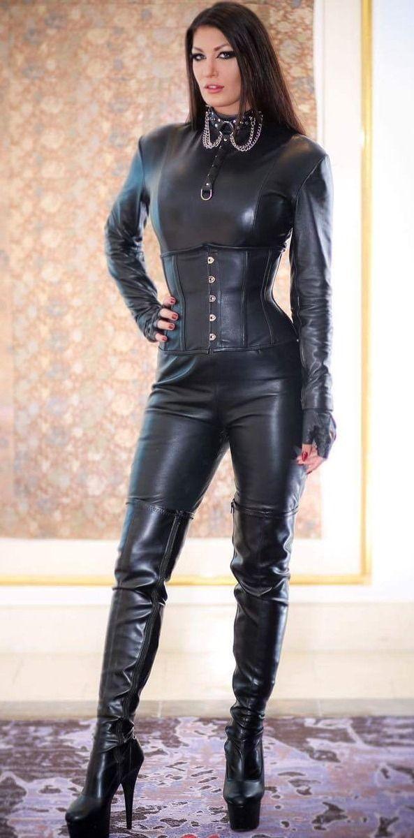 Leather goddess fetish photos