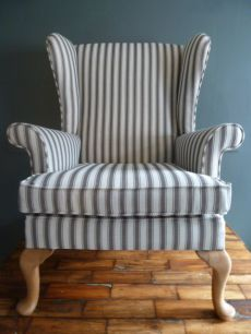 Vintage Parker Knoll Chair | Cornwall Stripe