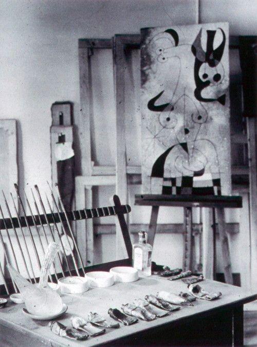 Joan Miro's studio. S)