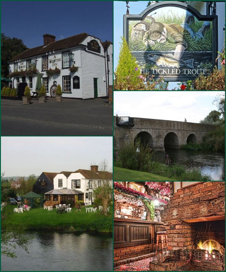 The Tickled Trout, Wye Kent, England.